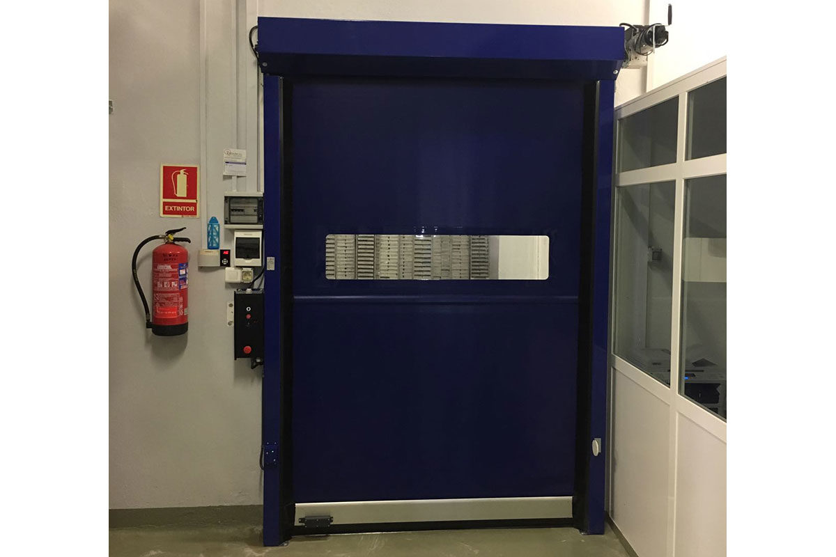 Puerta rápida enrollable Modelo EF-50
