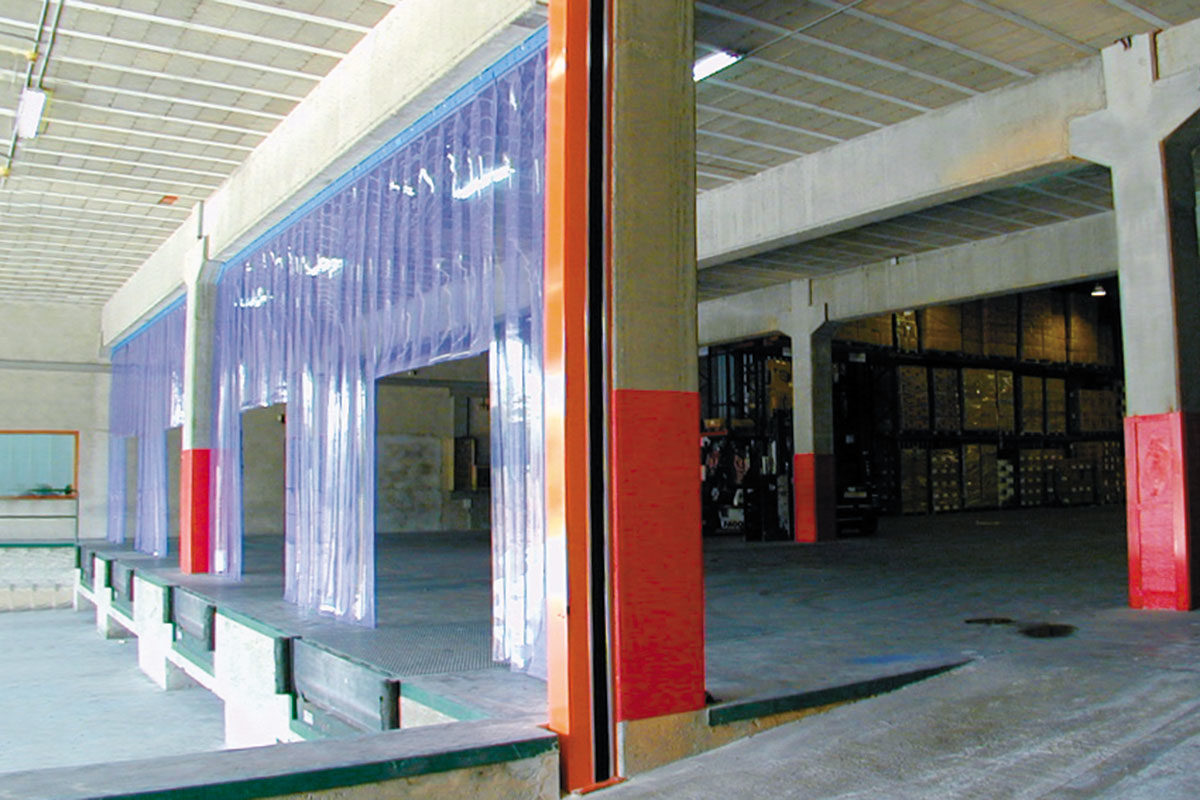Cerramientos en PVC flexible