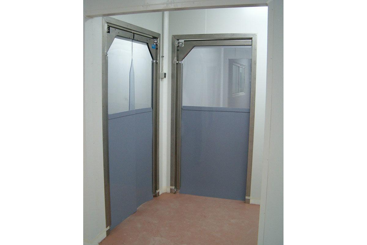 puertas flexibles batientes